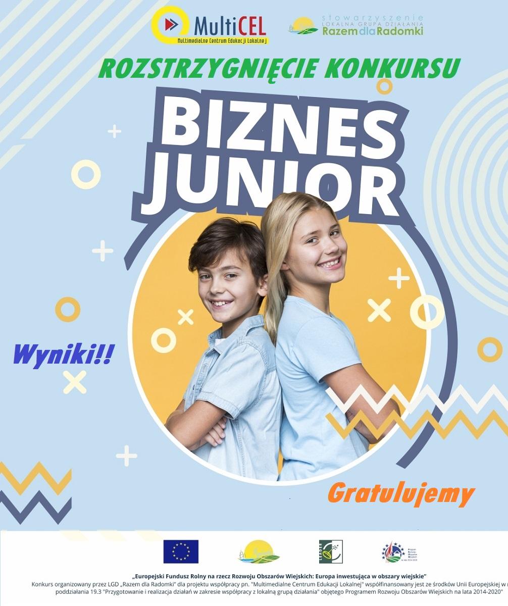 Konkurs Biznes Junior został rozstrzygnięty!